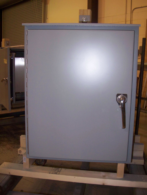 ... Outdoor Battery Cabinet; Outdoor Pole Or Wall Mount Enclosure ...